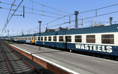 Coches Cama SNCF Wasteels UIC